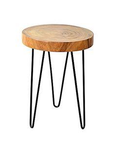 Jeffan Natura Freeform Side Table, Natural
