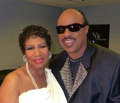 Beautiful Aretha Franklin and Stevie Wonder! R&b Artists, Music Artists, Soul Artists, Jazz, Music Icon, Soul Music, Black Celebrities, Celebs, Black Is Beautiful