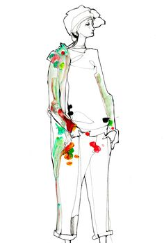 spcks of colourLife Drawings - Timi Hayek Fashion Sketchbook, Fashion Sketches, Illustrations And Posters, Fashion Illustrations, Simple Line Drawings, Illustration Mode, Fashion Figures, Fashion Portfolio, Fashion Art