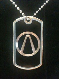 Borderlands Vault Symbol Dog Tag Necklace. $10.00, via Etsy.