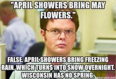 Wisconsin has no spring Wisconsin Funny, Milwaukee Wisconsin, Landscaping Near Me, Landscaping Software, Witty Remarks, Funny Quotes, Funny Memes, Green Bay, Back Home