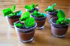 Minty Pudding Pots