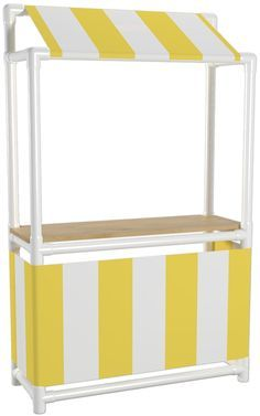 How to Build A PVC Lemonade Stand                                                                                                                                                                                 More