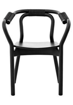 KNOT chair by Normann Copenhagen - Black