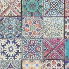 Moroccan / Croatian Style Tile Effect Wallpaper Multicoloured – Your 4 Walls Look Wallpaper, Tile Wallpaper, Moroccan Wallpaper, Hallway Wallpaper, Kitchen Wallpaper, Bedroom Wallpaper, Moroccan Pattern, Moroccan Design, Shabby Chic Style