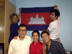 Launch of #rainsytv. Braving TV censorship #electionskh #cambodia