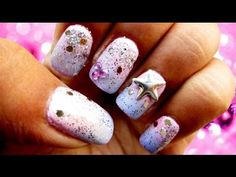 Disney Princess inspired nails | Tutorial - http://www.nailtech6.com/disney-princess-inspired-nails-tutorial/