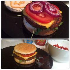 Burger vegan maison #miam #burger #vegan #homemade