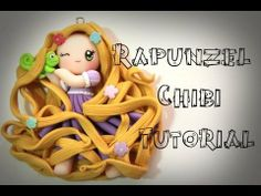 ▶ ♥Rapunzel Chibi Tutorial♥ (DISNEY PRINCESSES SERIES) - YouTube