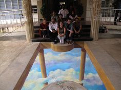 This 3D Street Art cloud is the best resource for some of the most amazing artwork in the world, where the artists use sidewalks and pavement as their canvas.