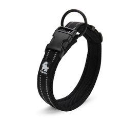 Adjustable Padded Nylon Mesh 3M Reflective Dog Collar