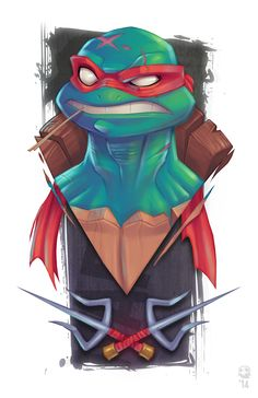 CyberWolf, TMNT - Fan Art Created by Ghost Hause / Find...