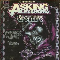 febbraio 2013 - Asking Alexandria + Motionless In White + Betraying The Martyrs + While She Sleeps LIVE - Alcatraz Milano.