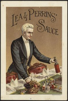 Title: Lea & Perrins' Sauce [front] Created/Published: N. Y. : Donaldson Brothers Date issued: 1870 - 1900