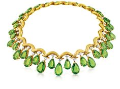 "Jar Jewelry Designer Paris | Vintage ""Mezzaluna"" Necklace by Fulco di Verdura. Photo used with .."