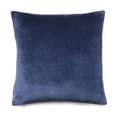 Created from luxuriously soft cotton velvet, the Bombay cushions make a fabulous addition to any home. Featuring a solid colour design, they are ideal to mix and match with new or existing accessories. Blue Cushions, Velvet Cushions, White Pillows, Throw Cushions, Cheap Bedding Sets, Bedding Sets Online, Cotton Velvet, Blue Velvet, Pillow Protectors