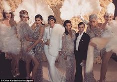 Unforgettable: Kris Jenner celebrated her 60th birthday party in lavish fashion alongside her daughters Kendall and Kylie Jenner, Kim Kardashian, Kourtney Kardashian, and Khloe Kardashian on Friday