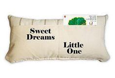 One Kings Lane - The Little Loft - Sweet dreams 12x24 Pillow