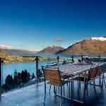 Bel Lago and the mountains(Queenstown NZ)