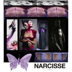 """""""Narcisse"""" by melange-art on Polyvore"""
