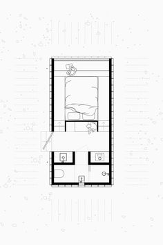 Architecture Symbols, Architecture Drawings, Architecture Plan, Tyni House, Tiny House Cabin, Studio Floor Plans, House Floor Plans, Cabin Design, Small House Design