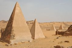 Did you know there are more pyramids in Sudan than Egypt... with about 1% the amount of tourists.