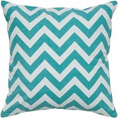 Chevron Pillow Teal BDS $59