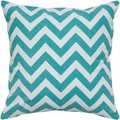 Chevron Pillow Teal BDS $59