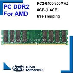 Brand RAMs Computador Memoria RAM DDR2 800MHz 4GB Desktop PC Computer Memory Module DDR 2