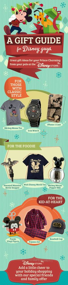 A Gift Guide for the Disney Grooms #Christmas #HolidayShopping #WaltDisneyWorld