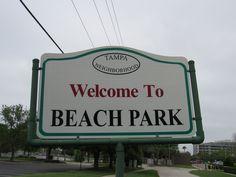 Beach park neighborhood Tampa Florida Tampa Florida, The Neighbourhood, Mosaic, Park, Beach, The Neighborhood, The Beach, Seaside, Parks