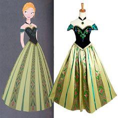 Frozen Cosplay  Anna Coronation Dress  Costume High by FANCosplay, $99.00