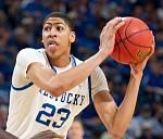 The US Basketball Writers Association selected Anthony Davis as the men's National Freshman of the Year.