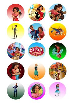 Elena of Avalor Elena of Avalor toppers Elena of Avalor