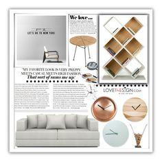 """LOVEThESIGN CONTEST"" by samirhabul ❤ liked on Polyvore featuring interior, interiors, interior design, home, home decor, interior decorating, TemaHome, Menu, Zara and OK Design"