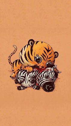 Tigre kawaii