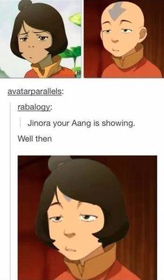 At first, I was confused why the put another picture of Jinora at the bottom, and than I realized...