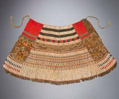 Africa   Beaded Marmo society skirt - Iraqw, Tanzania - Mid-20th century