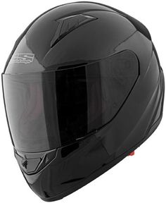 Speed and Strength - Solid Speed Gloss Black Helmet Mens Motorcycle Helmets, Motorcycle Riding Gear, Motocross Store, Motocross Gear, Helmet Liner, Black Helmet, Ventilation System, Strength, Core