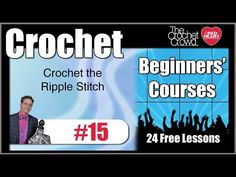 How To Crochet Catherine Wheel Stitch, Part 1 of 4 - YouTube