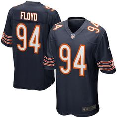 Nike Leonard Floyd Chicago Bears Navy 2016 Draft Pick Game Jersey Leonard  Floyd 4abc75dc4