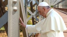 Pope Francis Lays Hands On Ailing U.S. Infrastructure - The Onion - America's Finest News Source