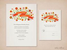 Digital print at home invites