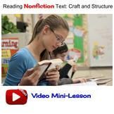 Nonfiction Craft and Structure Moves: Video Lesson (2 of 4)