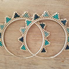 61 Ideas Diy Jewelry Earrings Hoops For 2019 Bead Jewellery, Seed Bead Jewelry, Seed Bead Earrings, Diy Earrings, Diy Jewelry, Beaded Jewelry, Jewelery, Handmade Jewelry, Jewelry Making