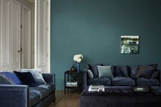 Love the combination of dark blues and teal