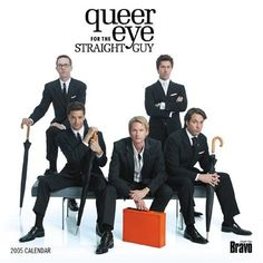 Queer Eye For The Straight Guy - I have rediscovered this show on Netflix. Forgot how much I loved it.
