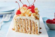 Zucchini slice Cake Recipes, Dessert Recipes, Custard Recipes, Baking Desserts, Sweet Recipes, Delicious Desserts, Easy Summer Desserts, Coconut Milk Powder, Few Ingredients