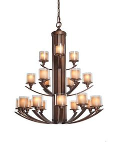 Stanley 9 light chandelier by kalco lighting 6717 mission artcraft ac1251 sierra 46 inch chandelier parlor mozeypictures Choice Image