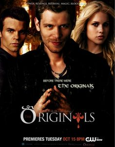 The Originals premiers Tuesday, October 15th